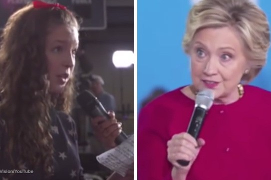 Hillary-Townhall-Stages-Question-Child-Actor